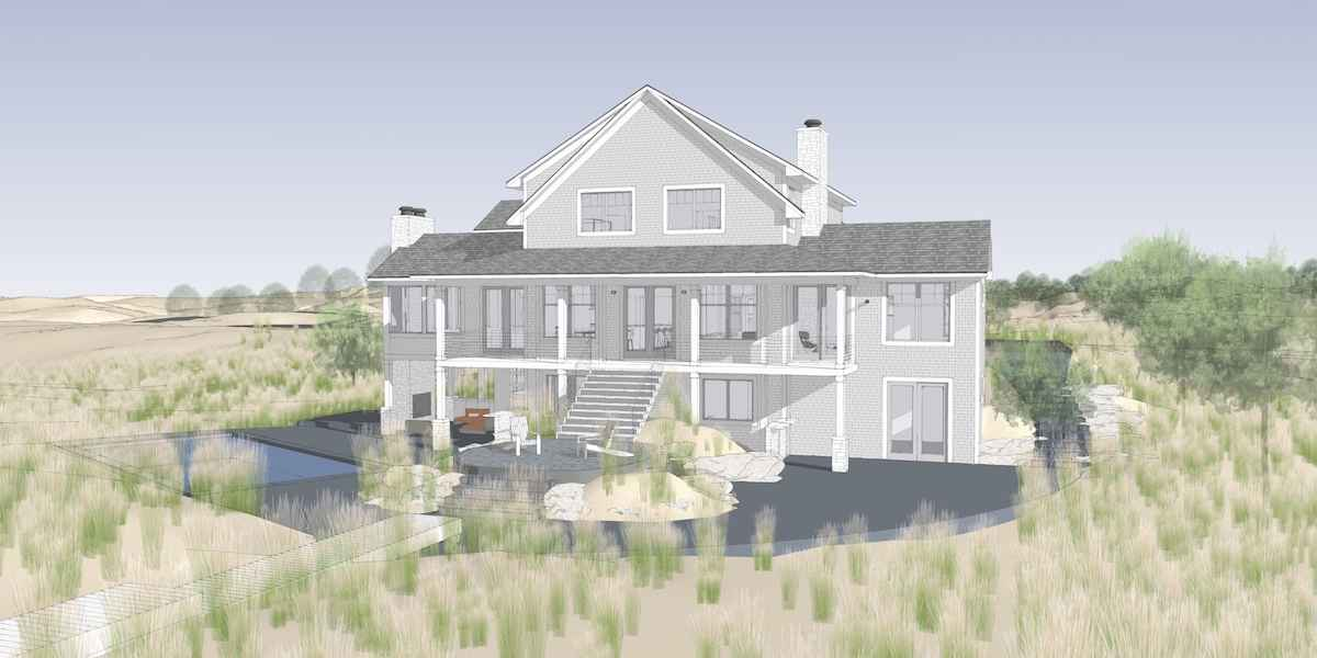 Lake Michigan Beach House